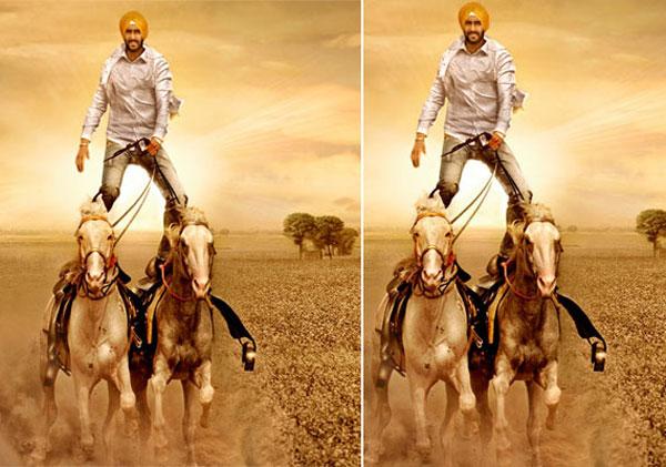 सन ऑफ सरदार में अजय sun of sardar , ajay devgan stunts