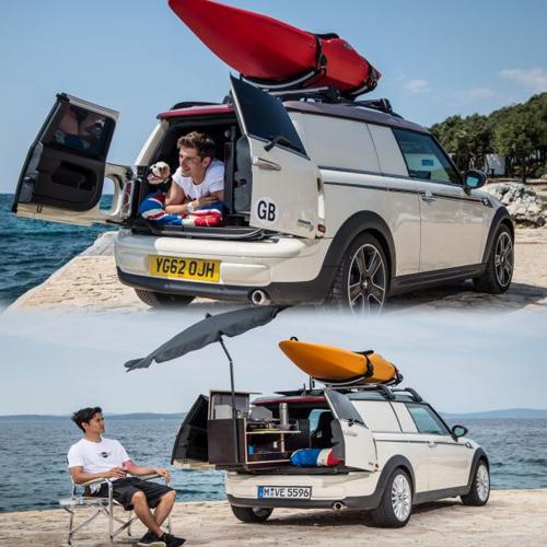 world's smallest luxury camper van!!