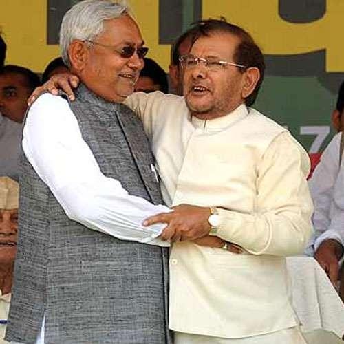Nitish Kumar replaces Sharad Yadav as a JDU president - India News in Hindi