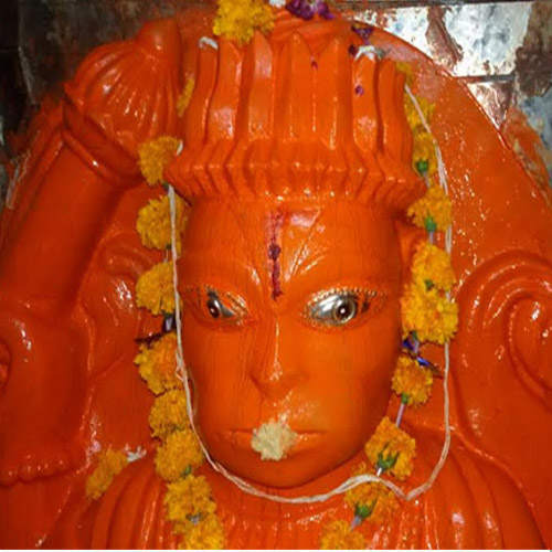 ajabgajab amazing hanuman sculpture that changes  times in a day have a look - OMG News in Hindi