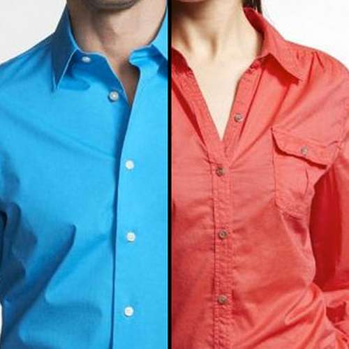 Women fact: why girls shirt button placed left side only - OMG News in Hindi