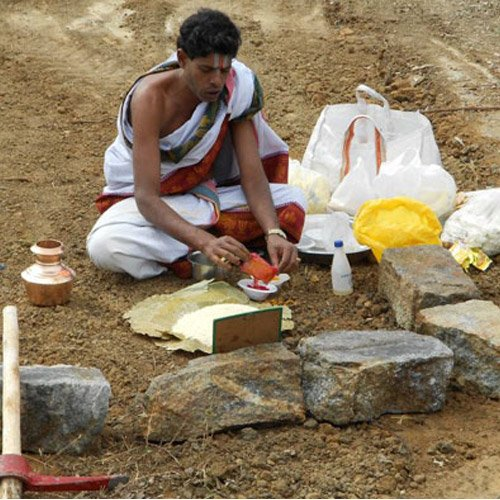astrology why early morning land worship - Astrology in Hindi