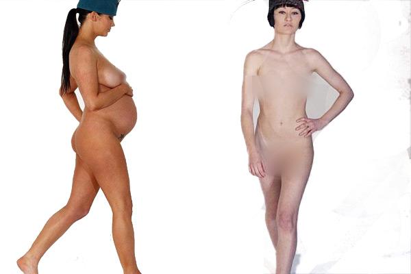 Nude Catwalk On Ramp 75