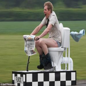 PICS : `World`s fastest loo` can hit 55mph