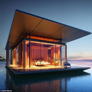 PICS : Floating house: one of your fantasies living!