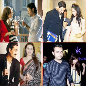 PICS : Couples of B-town soon saying `I DO`