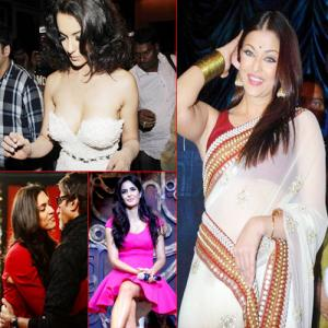 PICS : Aww.. It`s Embarrassing! gals couldn`t help wardrobe malfunction