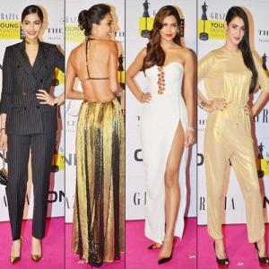 PICS : B-wood stunners @ Grazia Young Fashion Awards