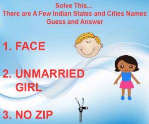 Solve This...यहां छुपे है कुछ राज्यों और शहरों के नाम