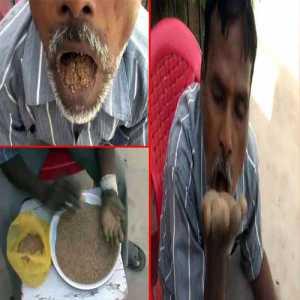 जानिए क्यों ये आदमी 25 सालों से खा रहा है मिट्टी