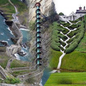 ये है दुनिया की टॉप 10 अनोखी और शानदार सीढियां