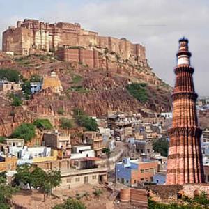 कुतुबमीनार से भी ऊंचा राजस्थान का यह किला