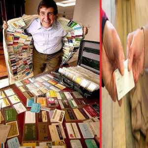 1,497 क्रेडिट कार्ड्स संग बनाया अनोखा वर्ल्ड रिकॉर्ड