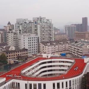 अनोखा स्कूल, छत पर ही बना डाला प्ले ग्राउंड