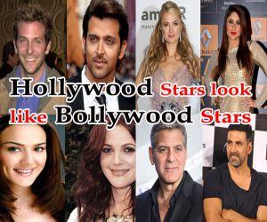 क्या आप जानते हैं, हॉलीवुड स्टार्स हैं बॉलीवुड स्टार्स के हमशक्ल