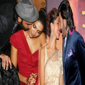 PICS : Ranveer and Deepika on a romantic date