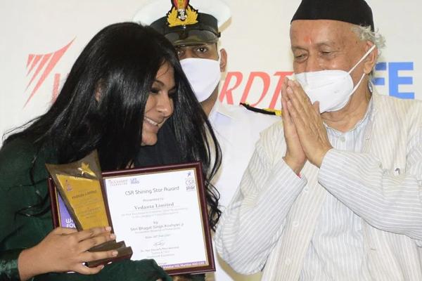vedanta nand ghar bags the csr shining star award 469753