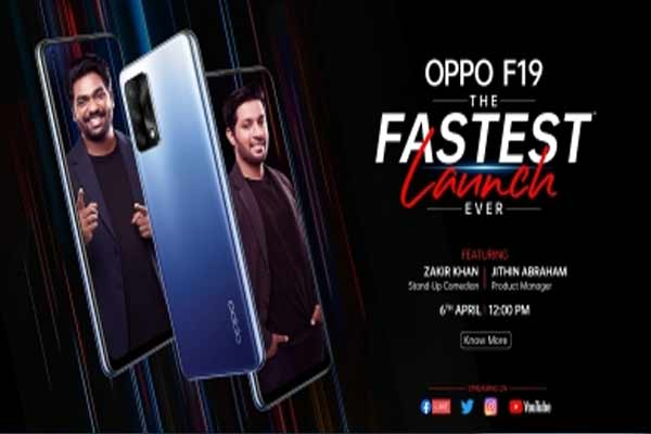 oppo will launch f19 on 6 april 473974