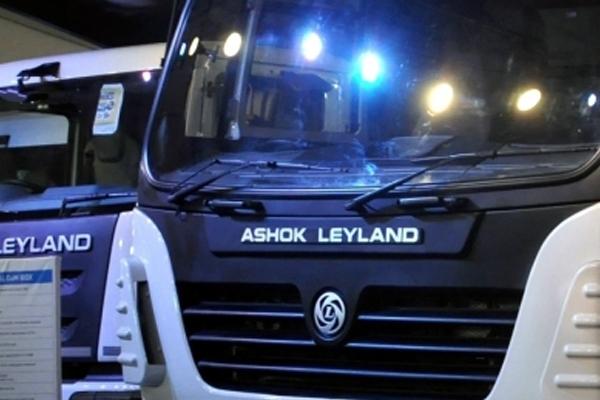 ashok leyland closes may sales with 3199 units 480182