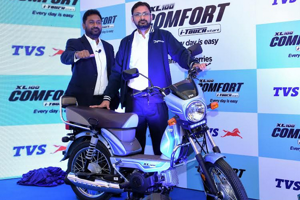 tvs motor sold 9601 mopeds in may 481199
