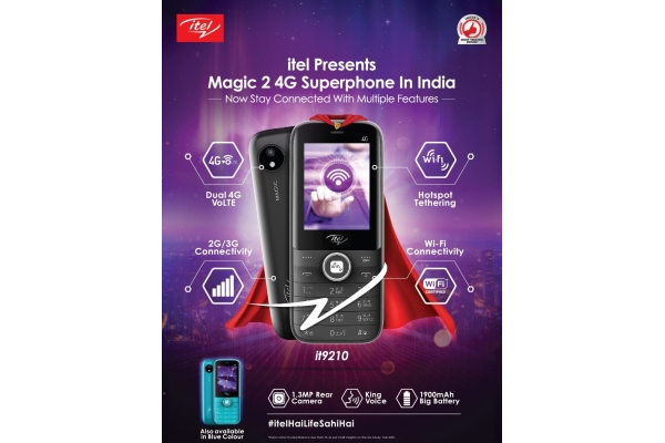 itel launches magic 2 4g smartphone with wi fi tethering in india 481580