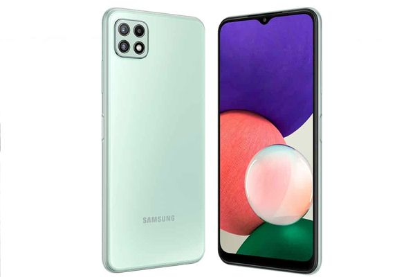 samsung galaxy a22 enters mid range 5g arena with a bang 486487