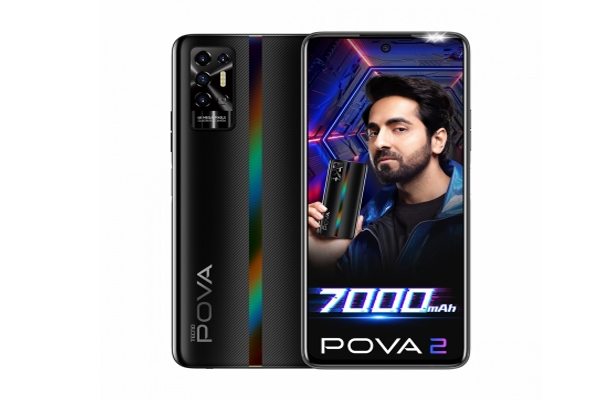 tecno pova 2 with massive 7000mah battery launched at just rs 10999 486730