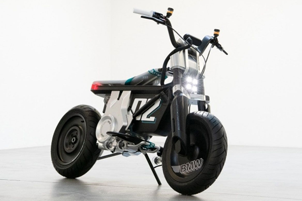bmw unveils ce 02 electric mini bike 490160