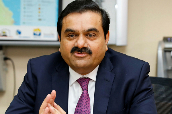 gautam adani says on track to be the world largest renewable generating company 491432