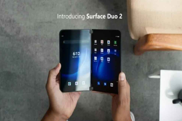microsoft launches surface duo 2 with better performance and cameras 491611