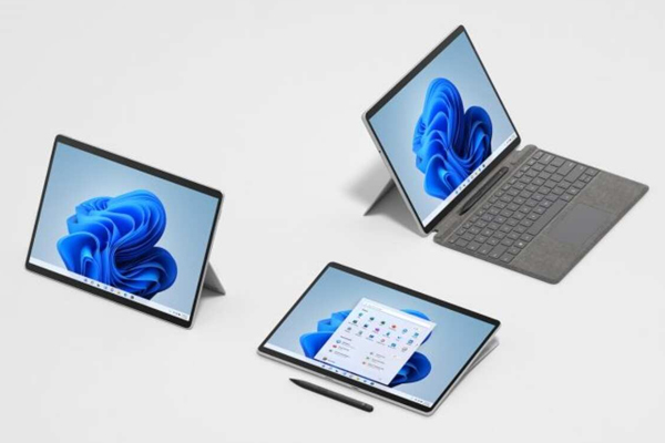 microsoft surface pro 8 with 120hz display launched 491621