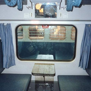 curtains will be removed from the third ac coaches of trains