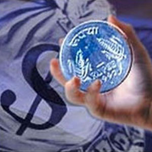 Indian currency of Rs 61.51 per dollar