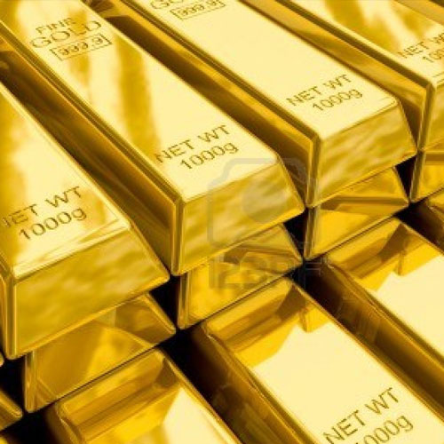 Gold fell sharply, down to the level of 10 months