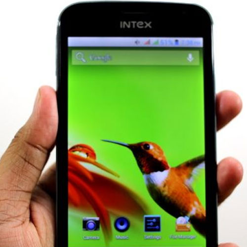 Intex will launch with the new software smartphone