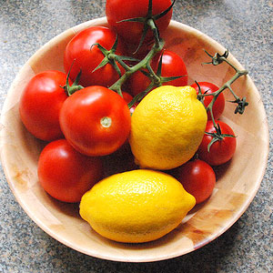 Lemons and tomatoes sold at higher prices