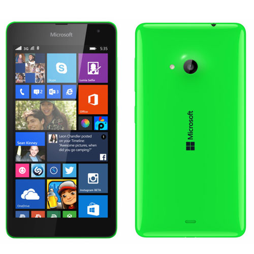 Microsoft Branded Lumia 535 With 5 Megapixel Front Camera Launched