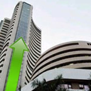 sensex touches new historical heights