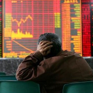 The downward trend in stock markets