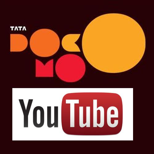 You tube ties up with TATA DOCOMO