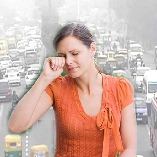 lifestyle multiple affects by air pollution in eyes - Lifestyle News in Hindi