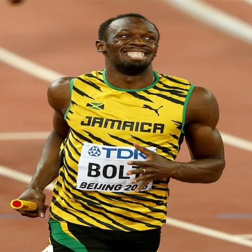 Usain Bolt win third gold in world athletics championship ...