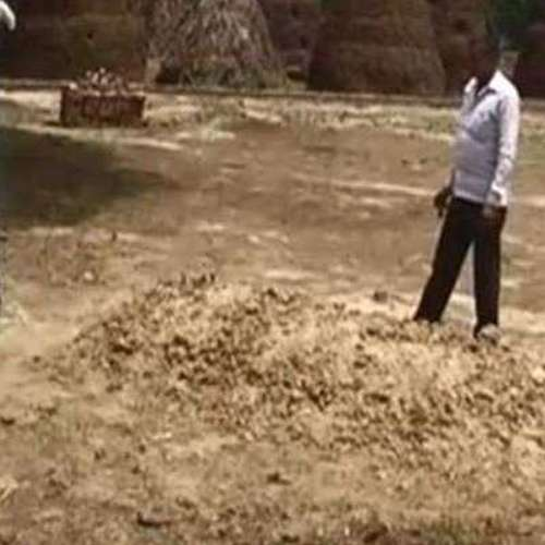 chiming in a grave at meerut i am alive let me out - OMG News in Hindi