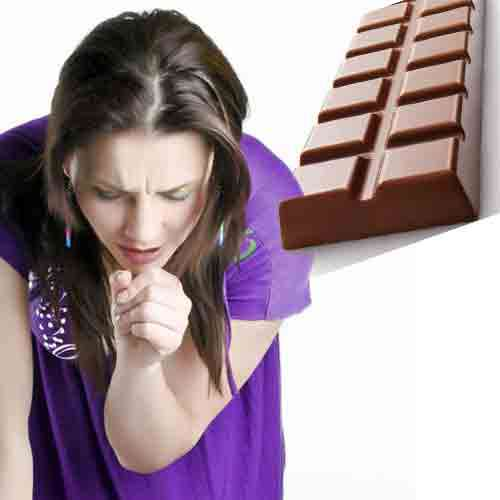 lifestyle have a cough eat some chocolate - Lucknow News in Hindi