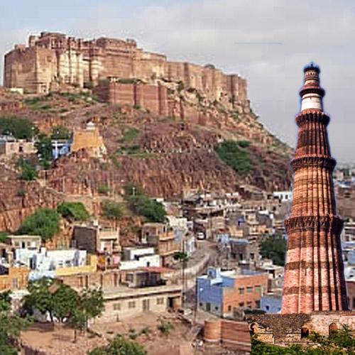 ajabgajab higher than qutub minar rajasthan jodhpur fort - OMG News in Hindi