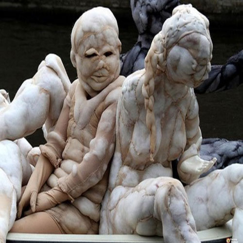 ajabgajab amazing artist made nude sculpture with used nylon stockings must read - OMG News in Hindi