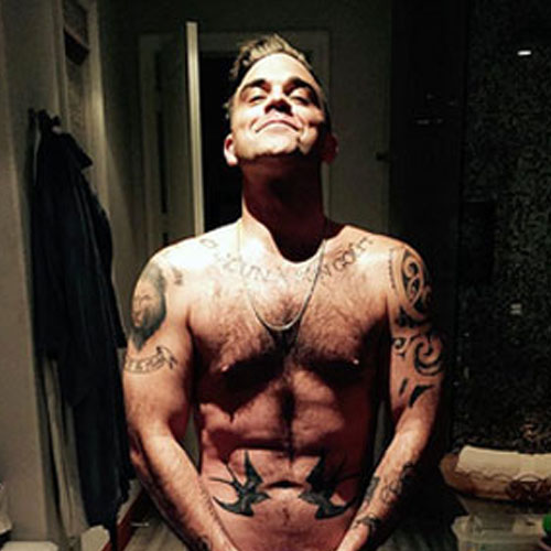 Robbie william nude images 2