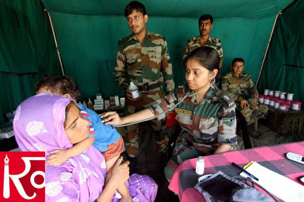 Armed Forces Medical Officers Being Deployed To COVID Care Centers