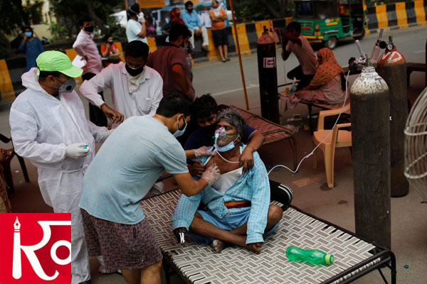 In Last 24 Hours India Records 3,57,229 New COVID Cases And 3,449 Deaths