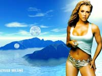 Alyssa Milano, Alyssa Milano wallpaper, Alyssa Milano desktop free wallpapers Wallpapers